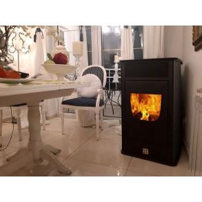 Pellet Fireplace DA VINCI DV 140 HYDRO