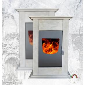 Pellet Fireplace DA VINCI DV 250 Ceramic