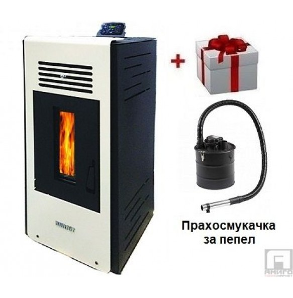 Pellet Fireplace BURNIT PD AMBIENT 4G  8 Plus